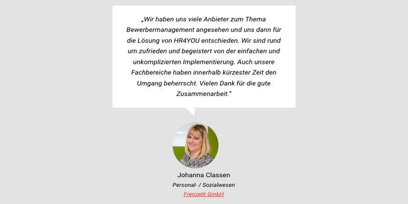 Frenzelit GmbH - Zitat