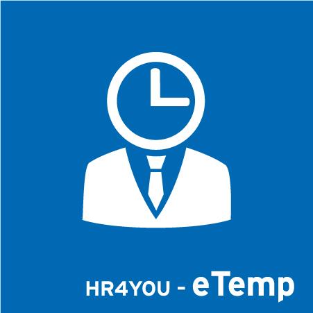Software für Zeitarbeit - HR4YOU-eTemp